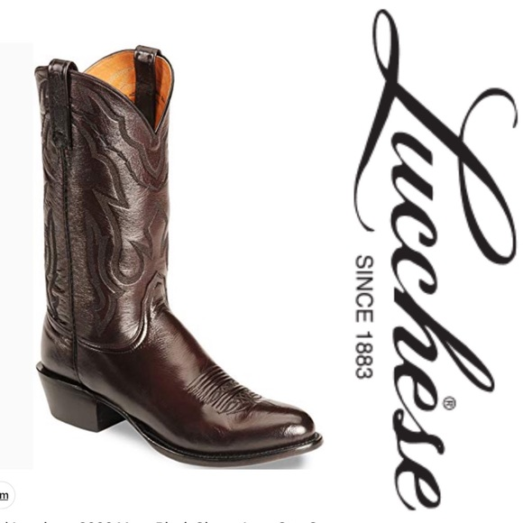 25c024036ab 💠Lucchese 2000 Mens cowboy boots💠 Size 12